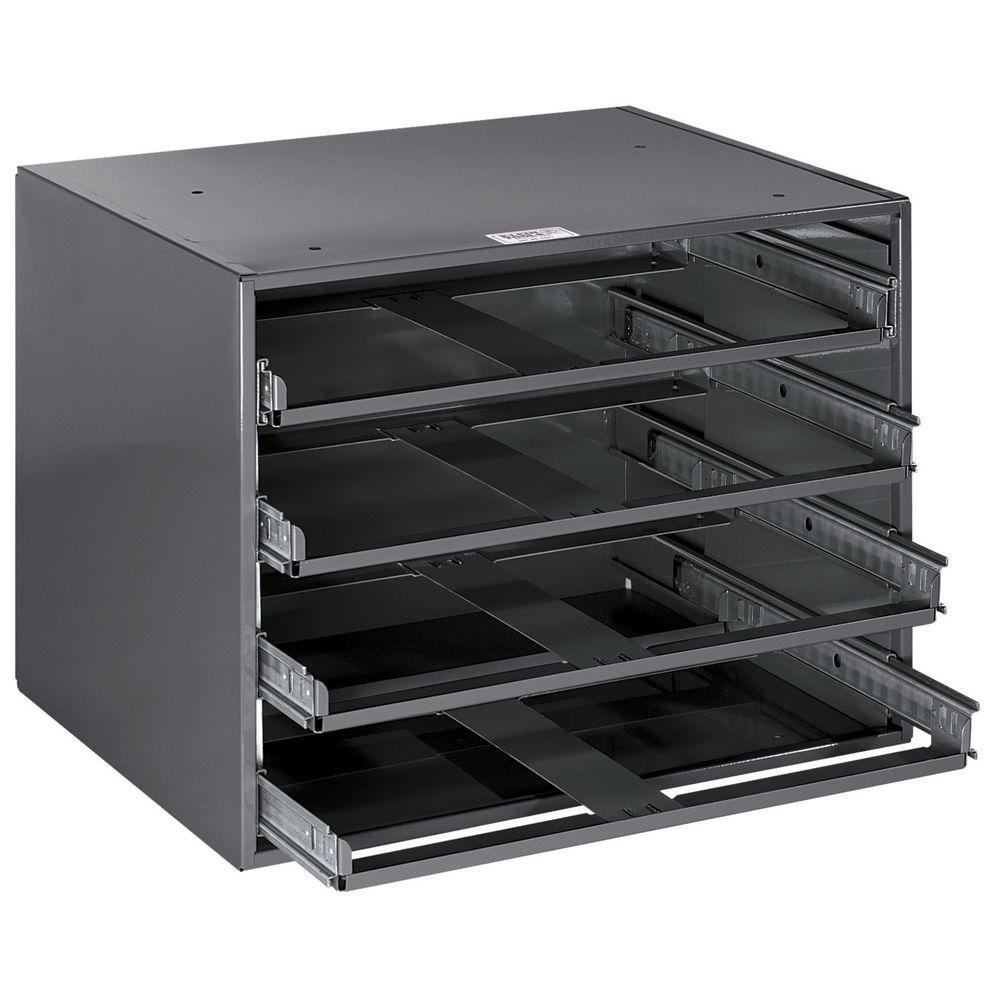 20 in. 4-Box Slide Rack