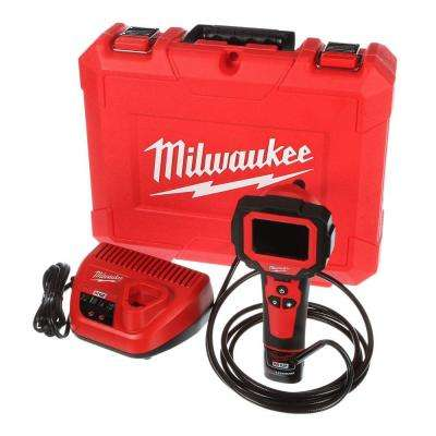 M12 12-Volt Lithium-Ion Cordless M-Spector 360 Degree Inspection Camera 9 ft. Cable Kit W/(1) 1.5Ah Battery & Hard Case