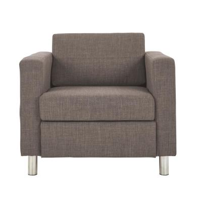 Pacific Cement Fabric Accent Chair