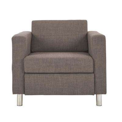 Pacific Cement FabricArm Chair