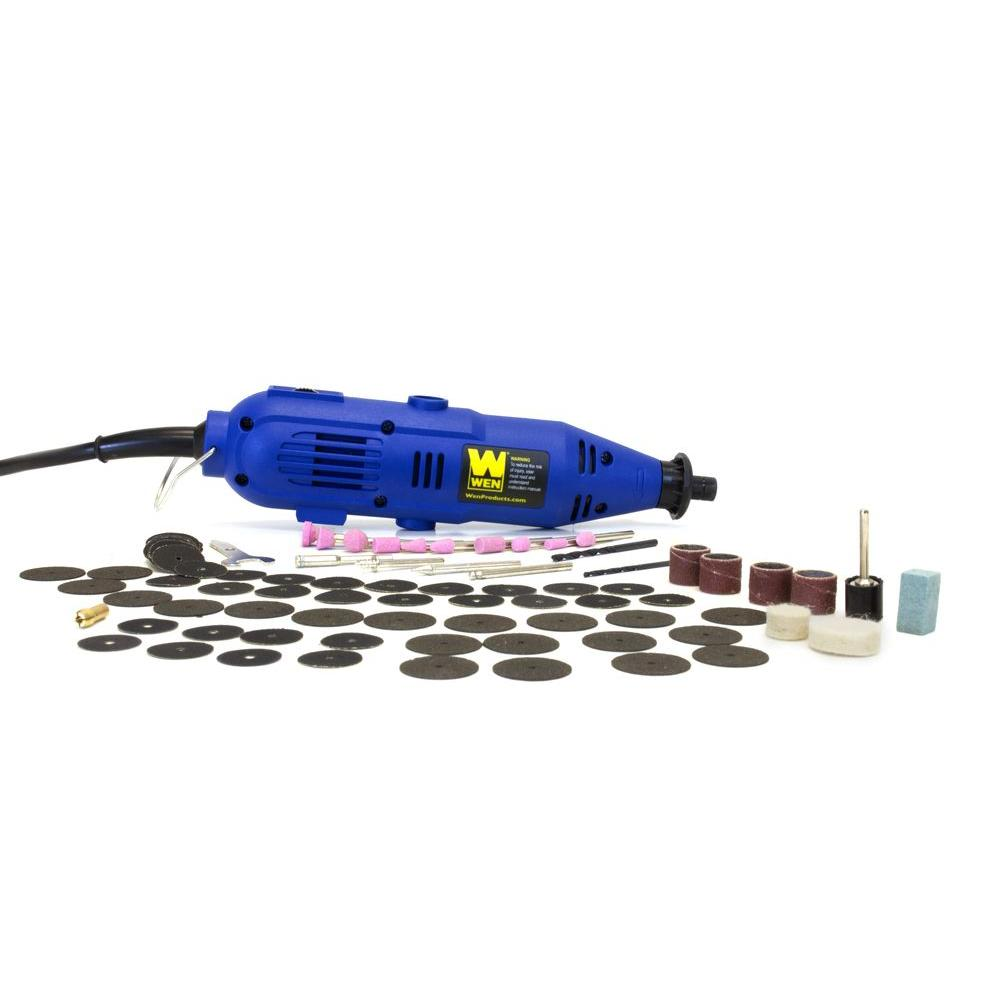 WEN 101-Piece Rotary Tool Kit with Variable Speed