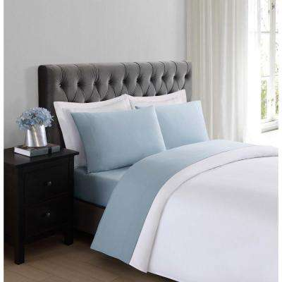 Everyday Light Blue Twin XL Sheet Set