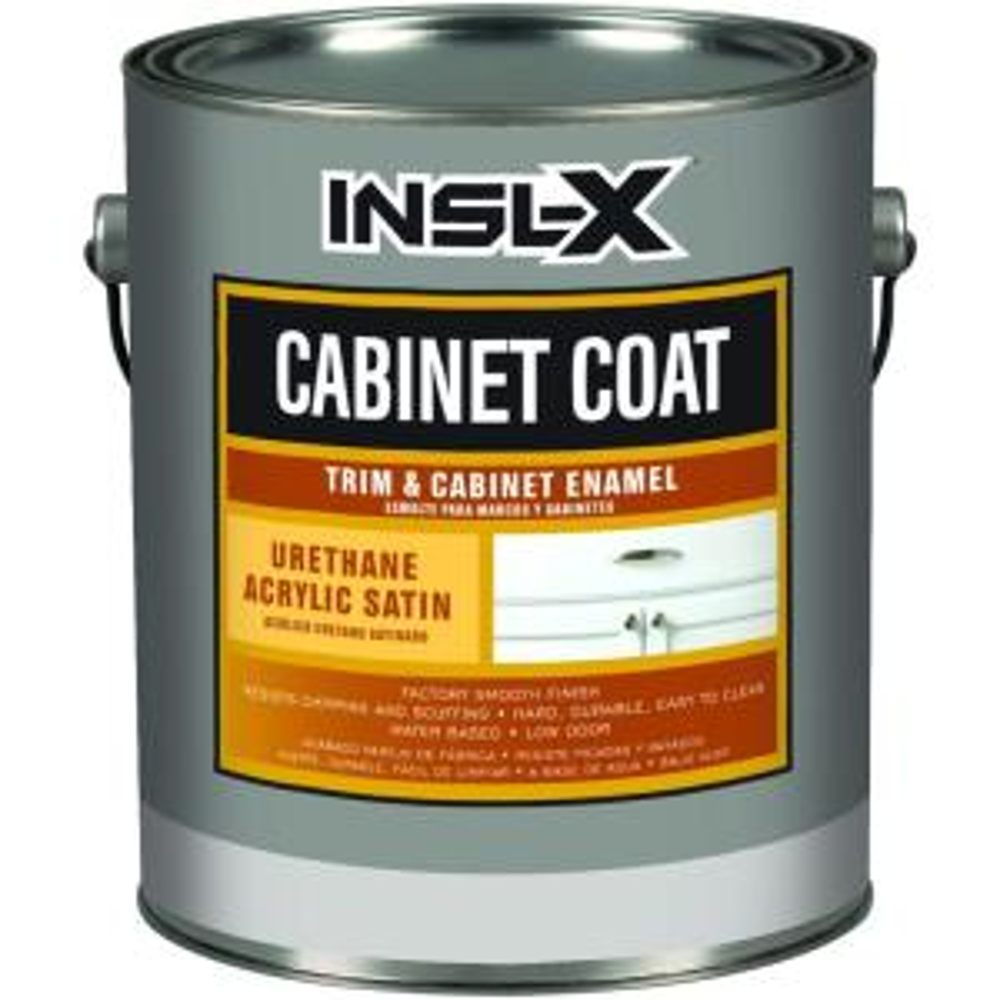 Cabinetcoat 1 Qt White Satin Interior Trim And Cabinet