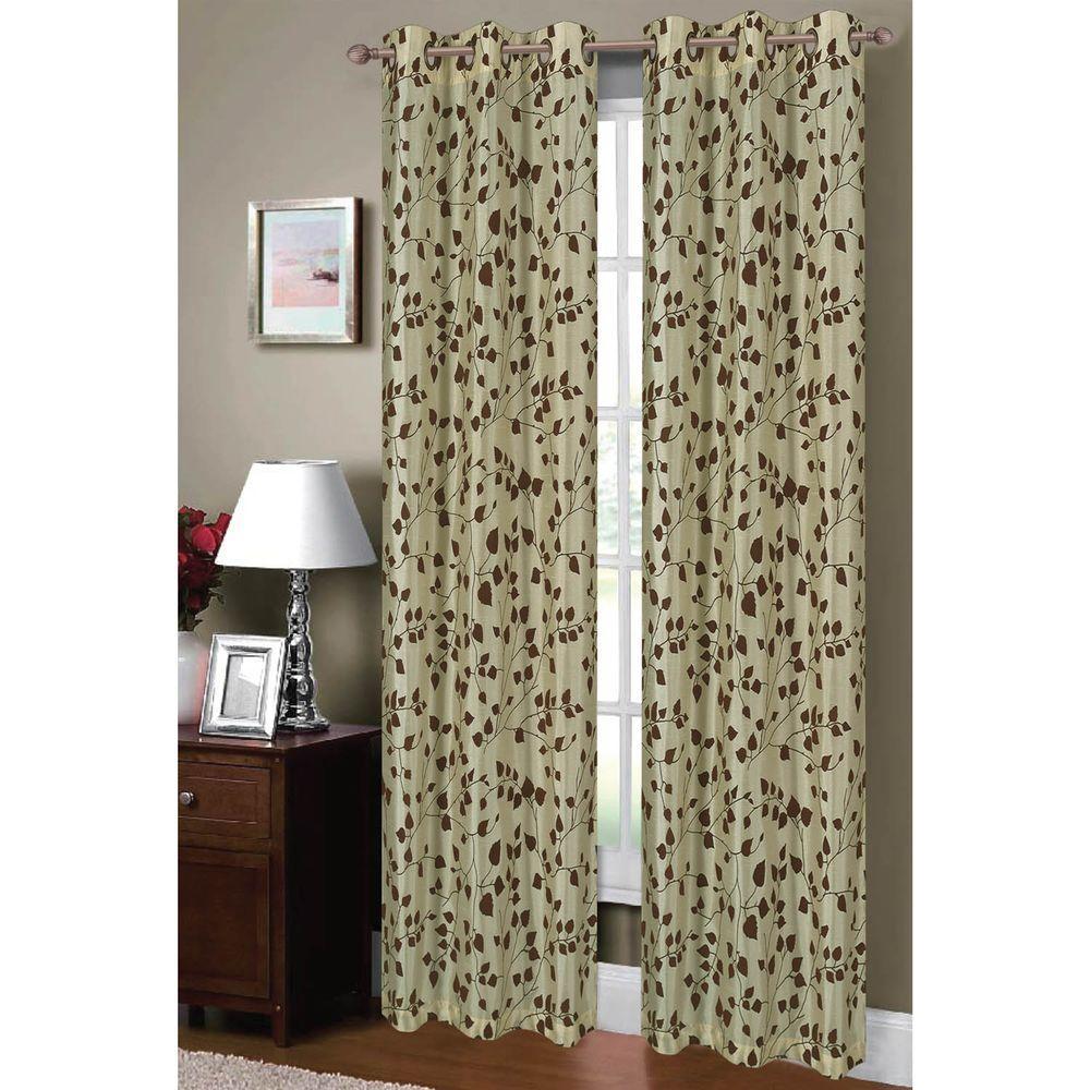 Green - Curtains \u0026 Drapes - Window Treatments - The Home Depot