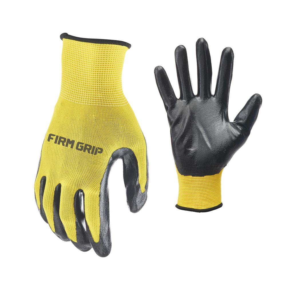 QUALITY LINED DRIVERS GLOVES YELLOW L Pack of 10