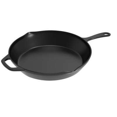 12 in. Pre-Seasoned Cast Iron Skillet
