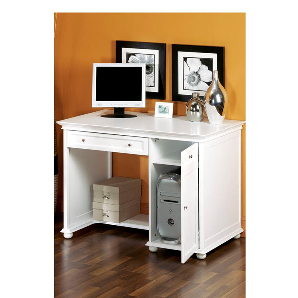 Home Computer Workstation Furniture Concept Collection Endearing White  Desks  Home Office Furniture  The Home Depot Design Ideas