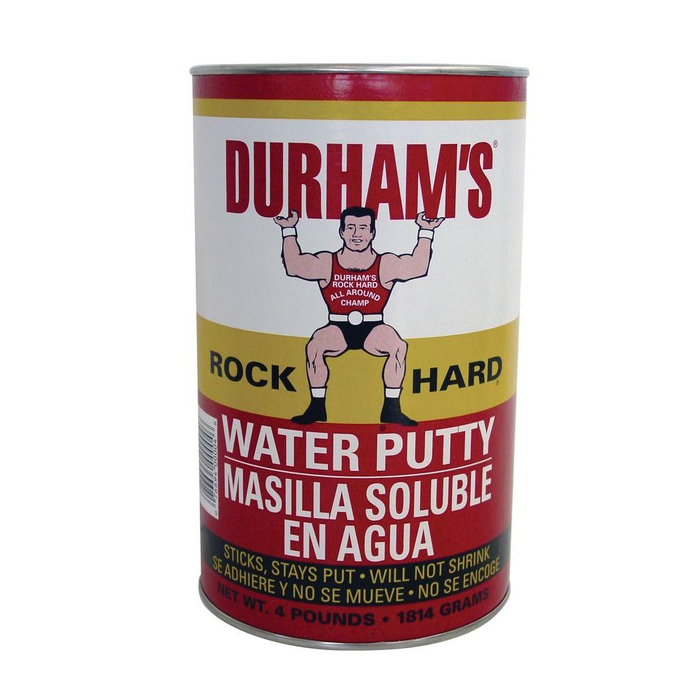 Durham's Rock Hard DU-4 4 lb. Water Putty