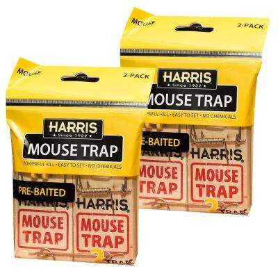 Mouse Snap Trap (4-Pack)