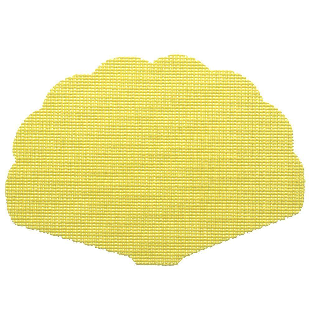 Fishnet Shell Placemat in Lemon (Set of 12)