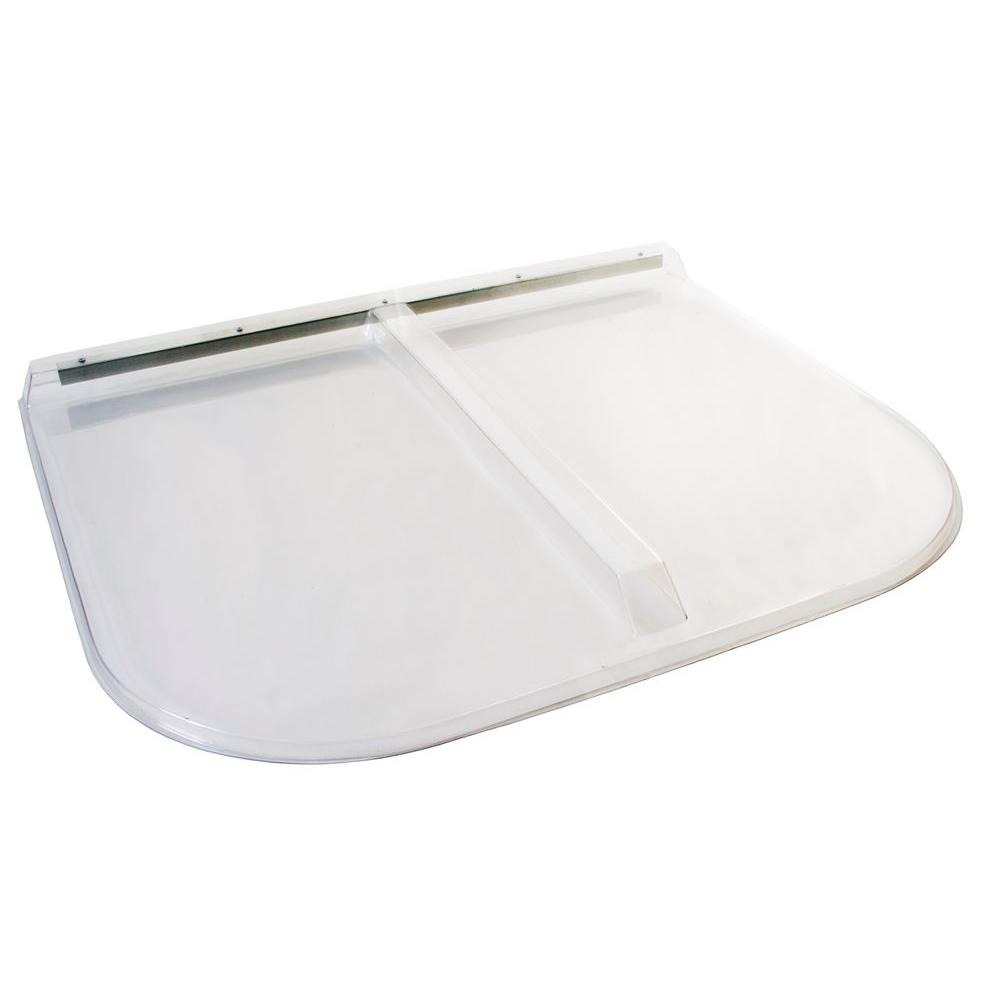 44 in. x 38 in. Polycarbonate U-Shape Egress Cover