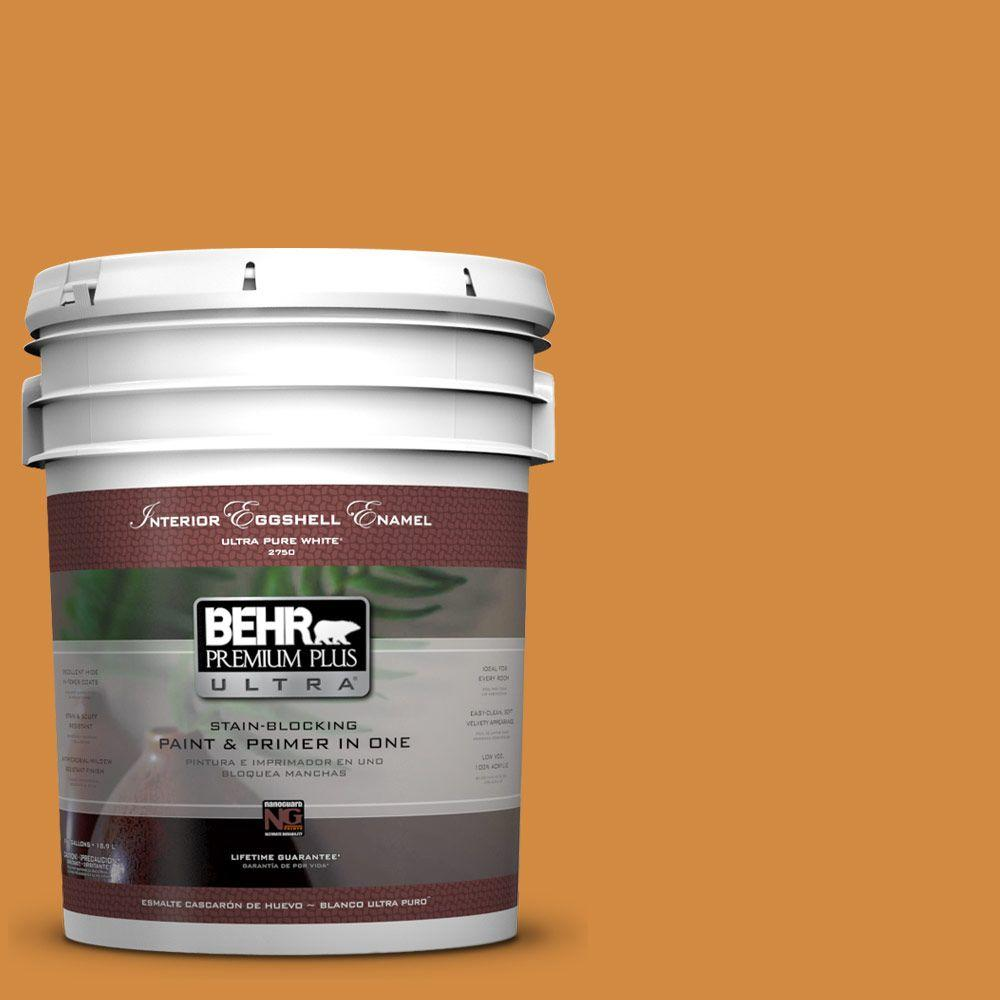 BEHR Premium Plus Ultra 5-gal. #PMD-105 Buried Treasure Eggshell Enamel Interior Paint