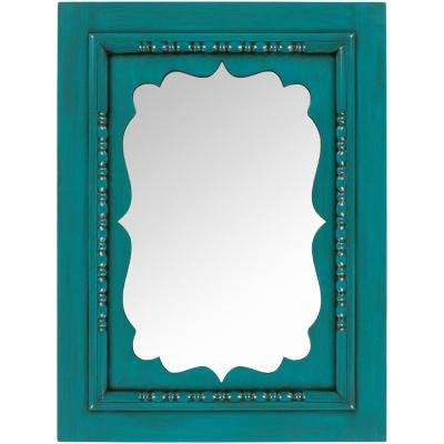Imelda 40 in. x 30 in. Classic Framed Mirror