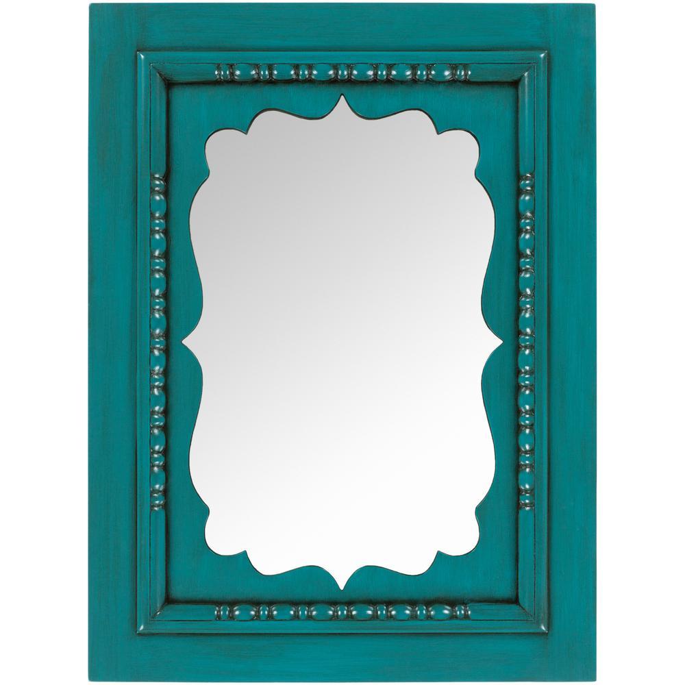 Imelda 40 in. x 30 in. Classic Framed Mirror