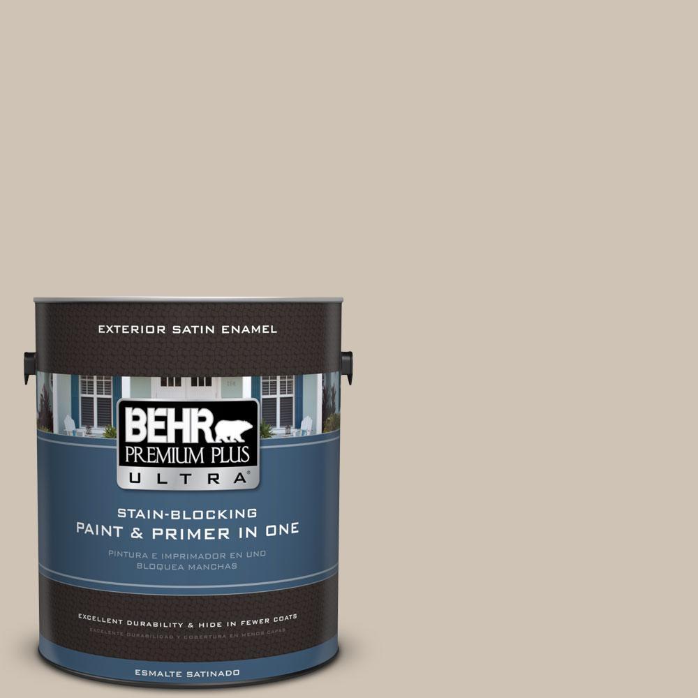 BEHR Premium Plus Ultra 1-gal. #BXC-04 Cavern Echo Satin Enamel Exterior Paint