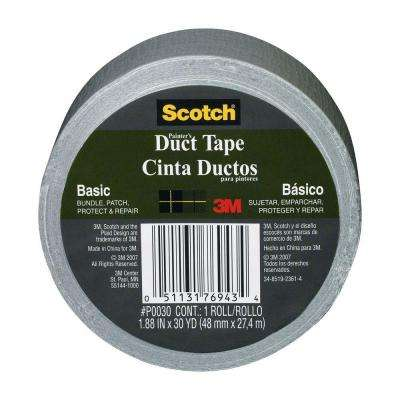 Scotch 1.88 in. x 30 yds. Basic Painter's Duct Tape (Case of 16)