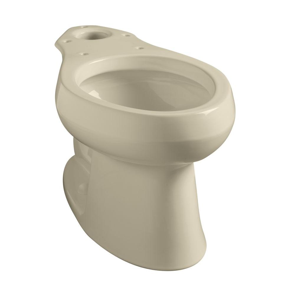 Wellworth Elongated Toilet Bowl Only in Almond