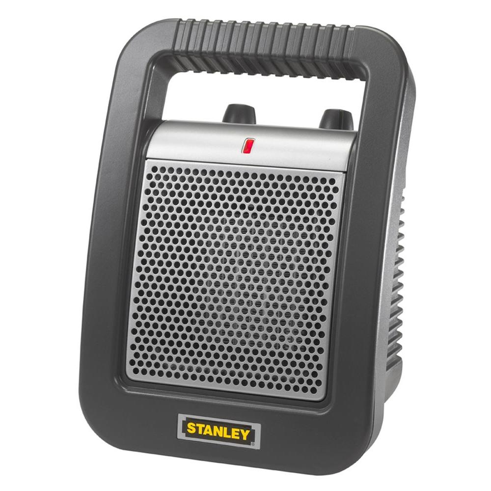 Stanley 11.25 in. 1,500 Watt Electric Portable Ceramic Utility Heater