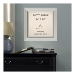 Amanti Art Romano 12 inch x 12 inch Silver Picture Frame by Amanti Art