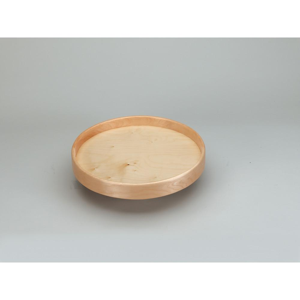 Rev-A-Shelf 18 in. Natural Wood Full Circle Lazy Susan