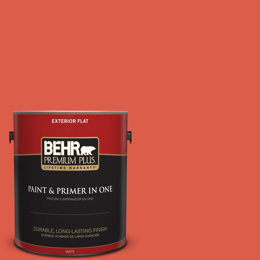 P180 6 Pimento Flat Exterior Paint And Primer