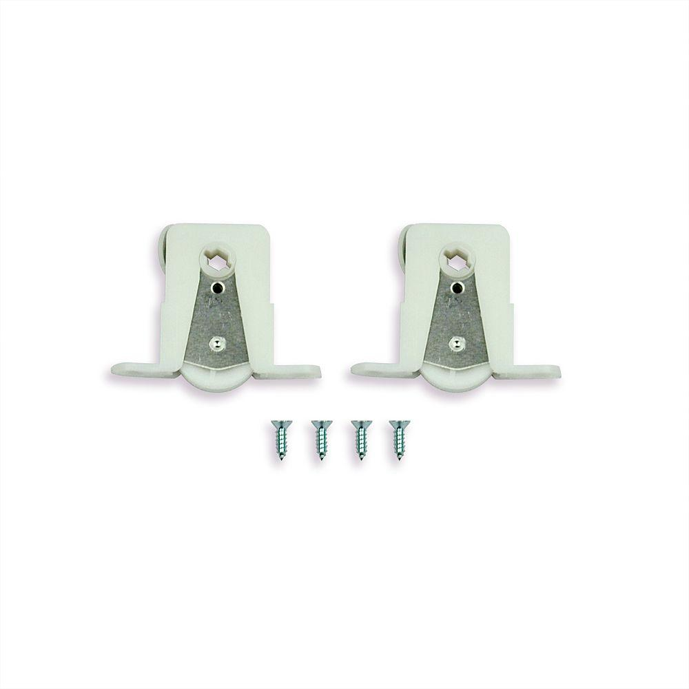 Sliding Patio Door Insect Screen Rollers (2 Pack)