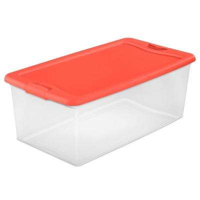 106 Qt. Latching Storage Box