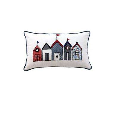 Bathhouse 20 in. W Decorative Pillow