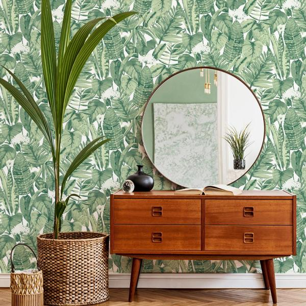 Tempaper Tropical Vinyl Peelable Wallpaper Covers 56 Sq Ft Tr529 The Home Depot