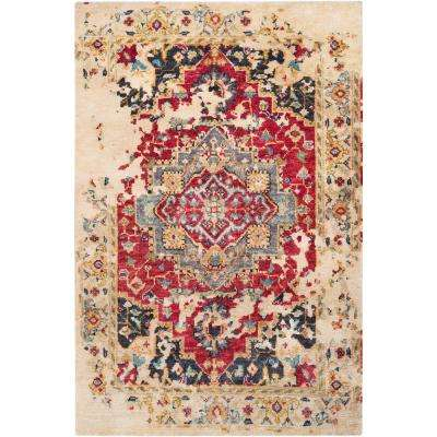 Larriston Red 2 ft. x 3 ft. Accent Rug