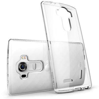 Halo Scratch Resistant Case for LG G4, Clear