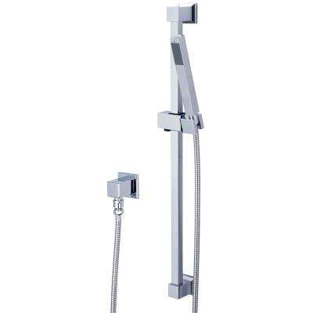 Mod 1-Spray Handheld Showerhead with Slide Bar in Polished Chrome