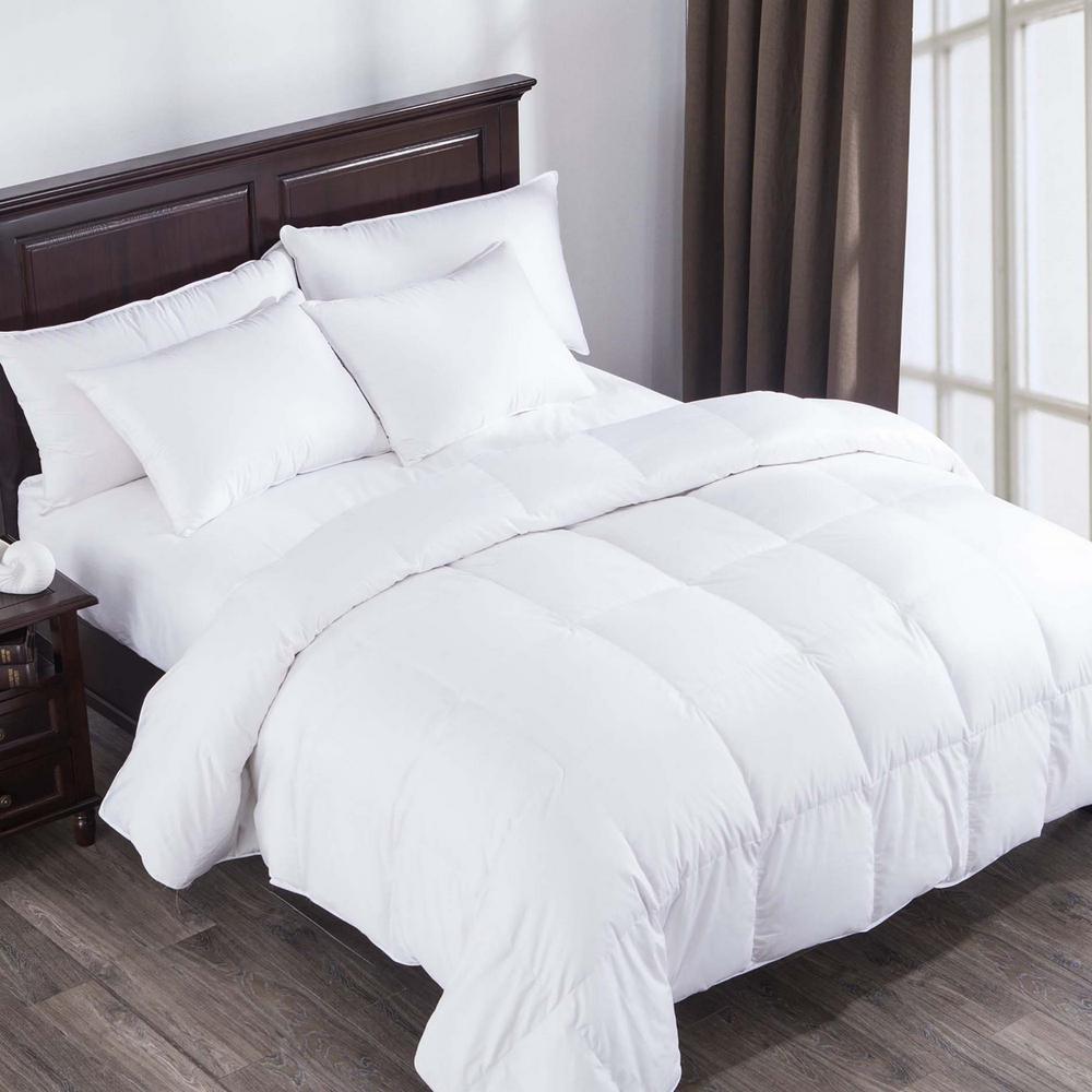Puredown Heavy Fill White Goose Down Comforter 400 Thread