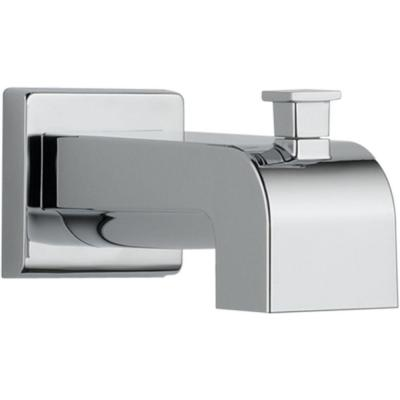 Arzo and Vero 7-1/8 in. Pull-Up Diverter Tub Spout in Chrome
