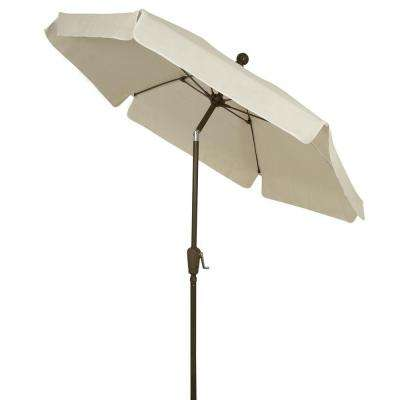 7.5 ft. Patio Umbrella in White