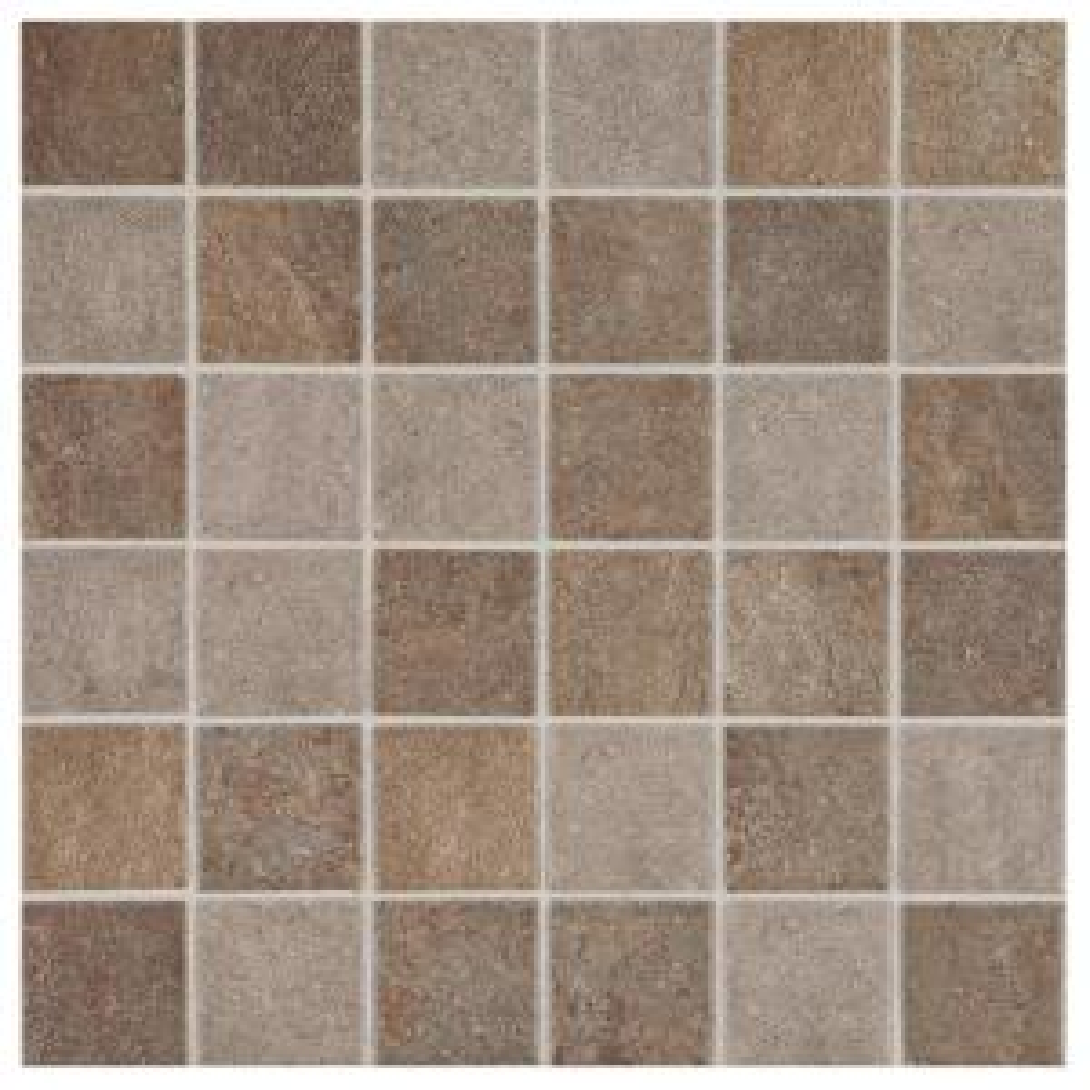 longbrooke slate mix 12 in x 12 in x 6 mm glazed ceramic mosaic