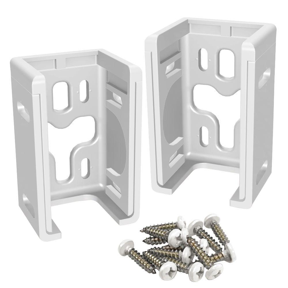 Veranda Vinyl Fence Bracket Kit 2 Pack 73013798 The