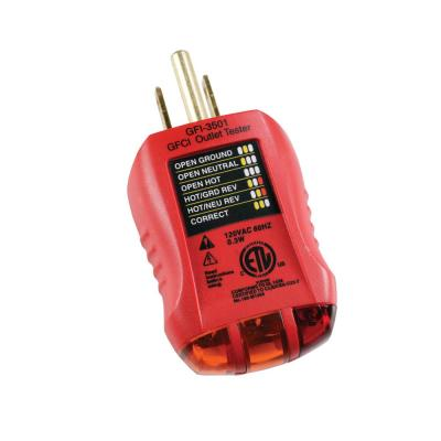Outlet and GFCI Tester
