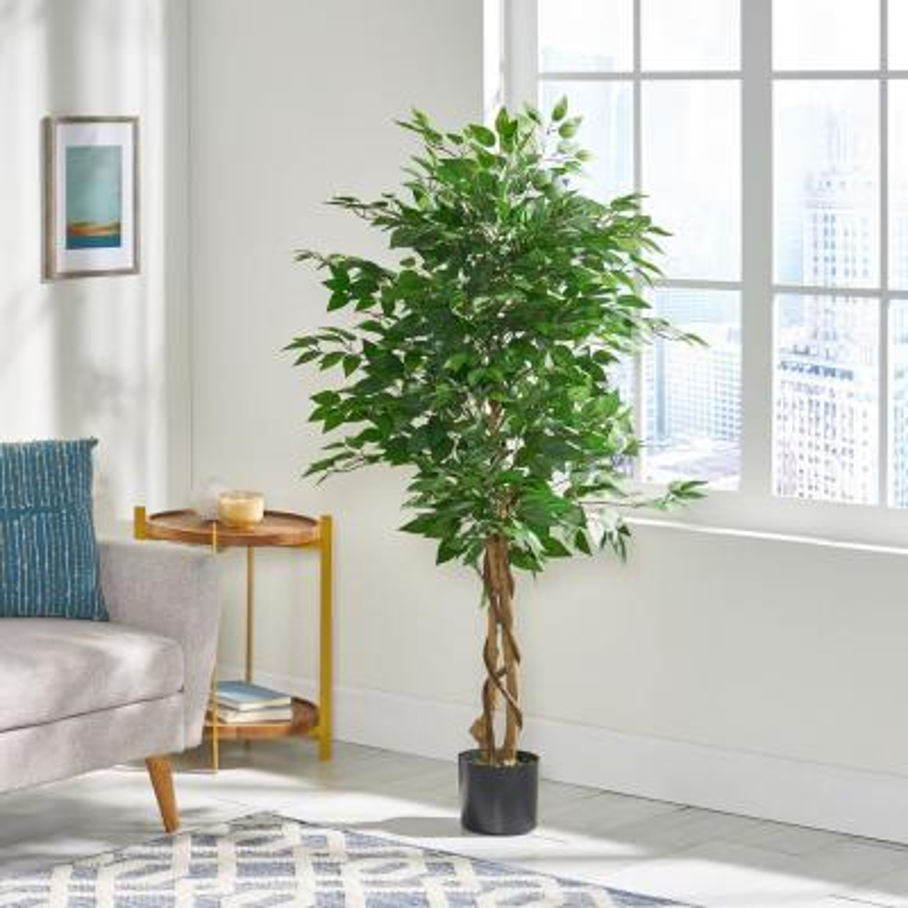 Murdock 5 ft. Green Artificial Ficus Tree