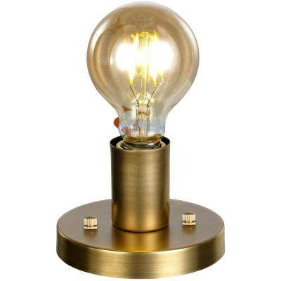 Prescott 1-Light Antique Brass Pendant