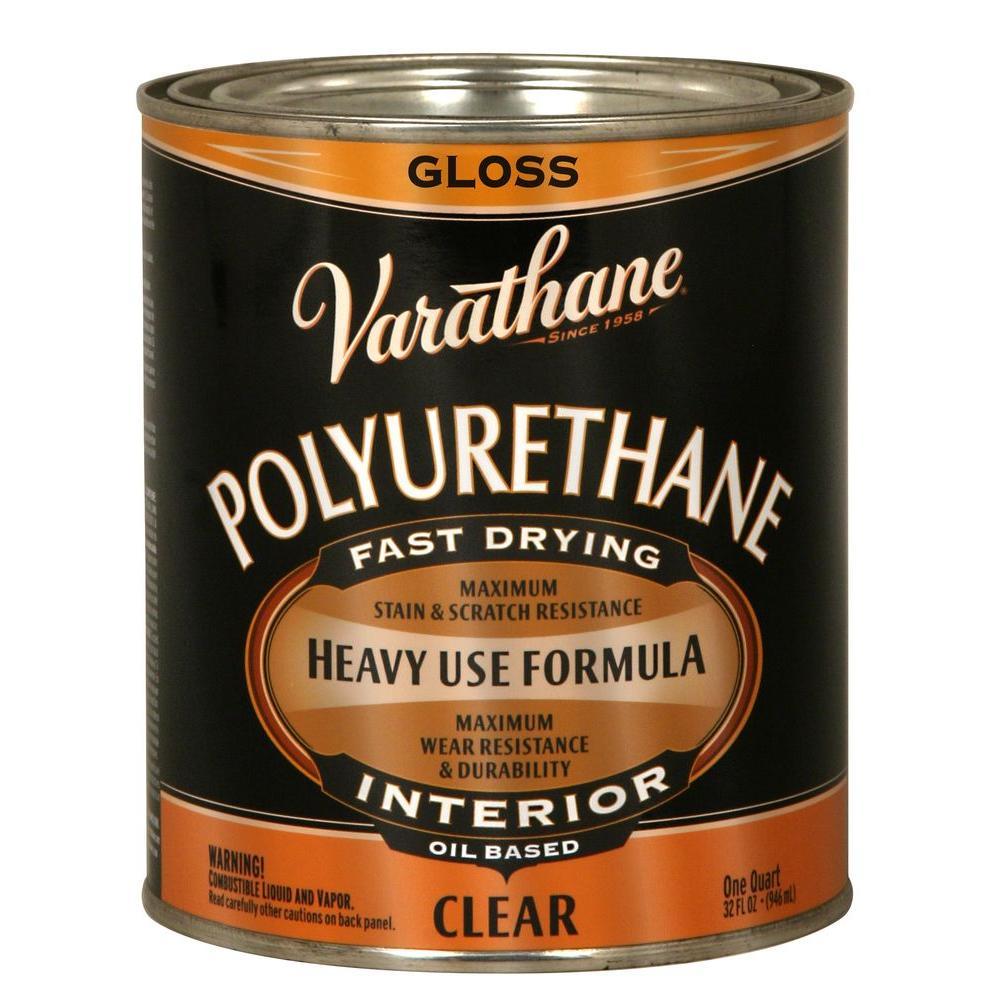 1 qt. Clear Gloss 275 VOC Oil-Based Interior Polyurethane (Case of 2)