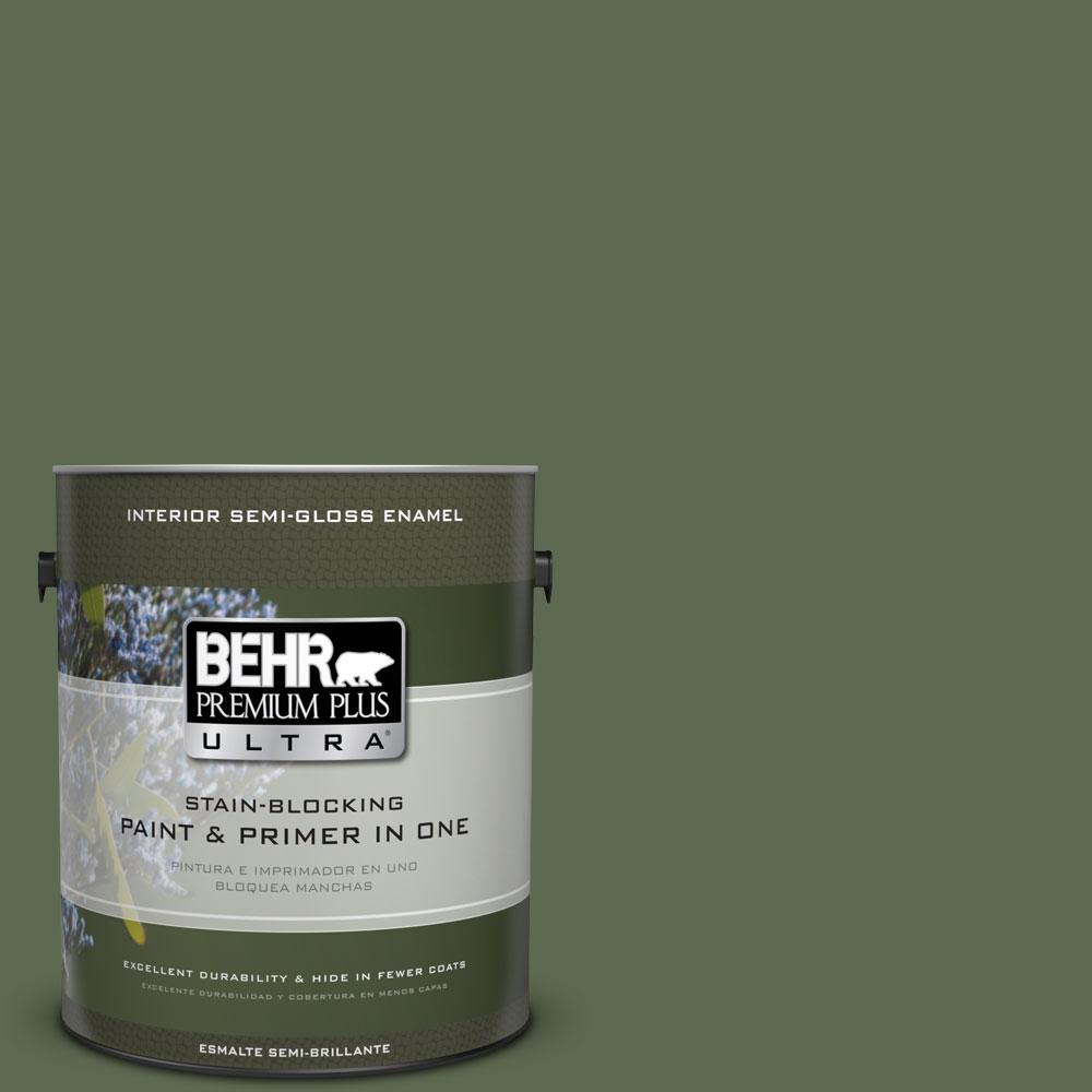 1 gal. #430F-6 Inland Semi-Gloss Enamel Interior Paint and Primer in