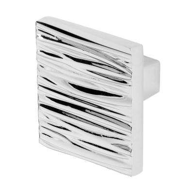 River 1-5/32 in. Chrome Cabinet Knob