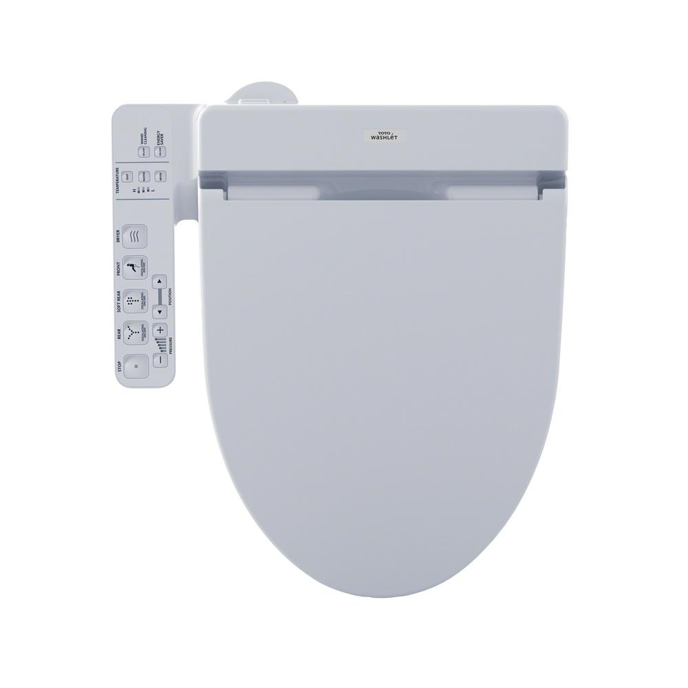 Toto Washlet Toilet Seat.Toto C100 Washlet Electric Bidet Seat For T20 Washlet Toilet In Cotton White