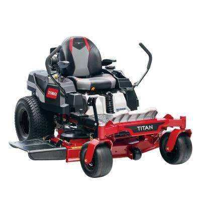 48 in. Titan IronForged Deck 24.5 HP Commercial V-Twin Gas Dual Hydrostatic Zero Turn Riding Mower with MyRIDE