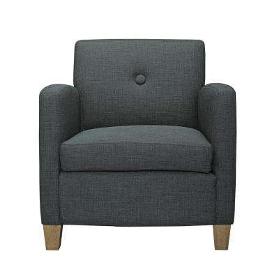 Reyes Charcoal Accent Chair