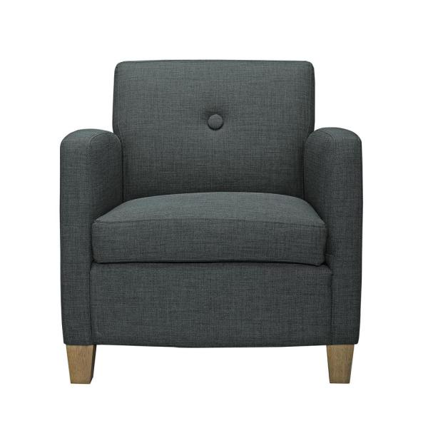 Dorel Living Reyes Charcoal Accent Chair FH7578-CH