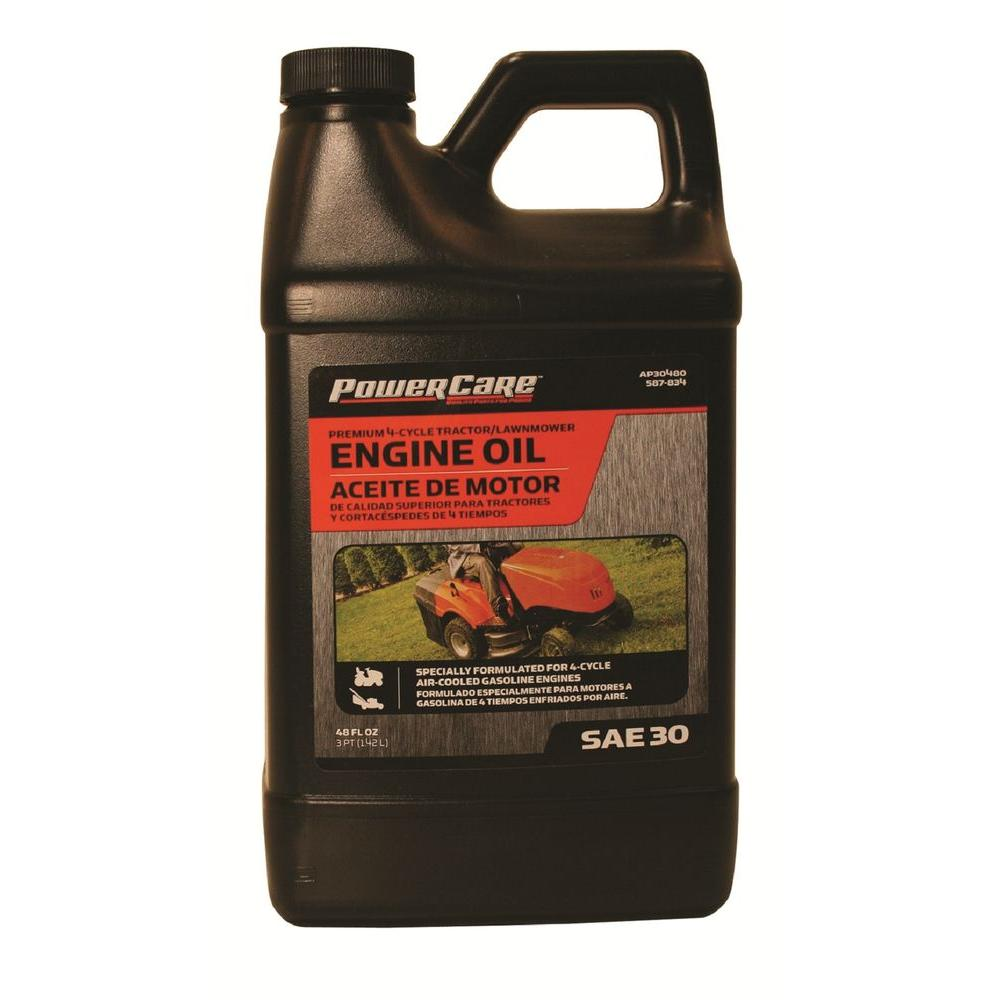 48 Oz 4 Cycle Engines 30w Conventional Engine Oil Pro Select For