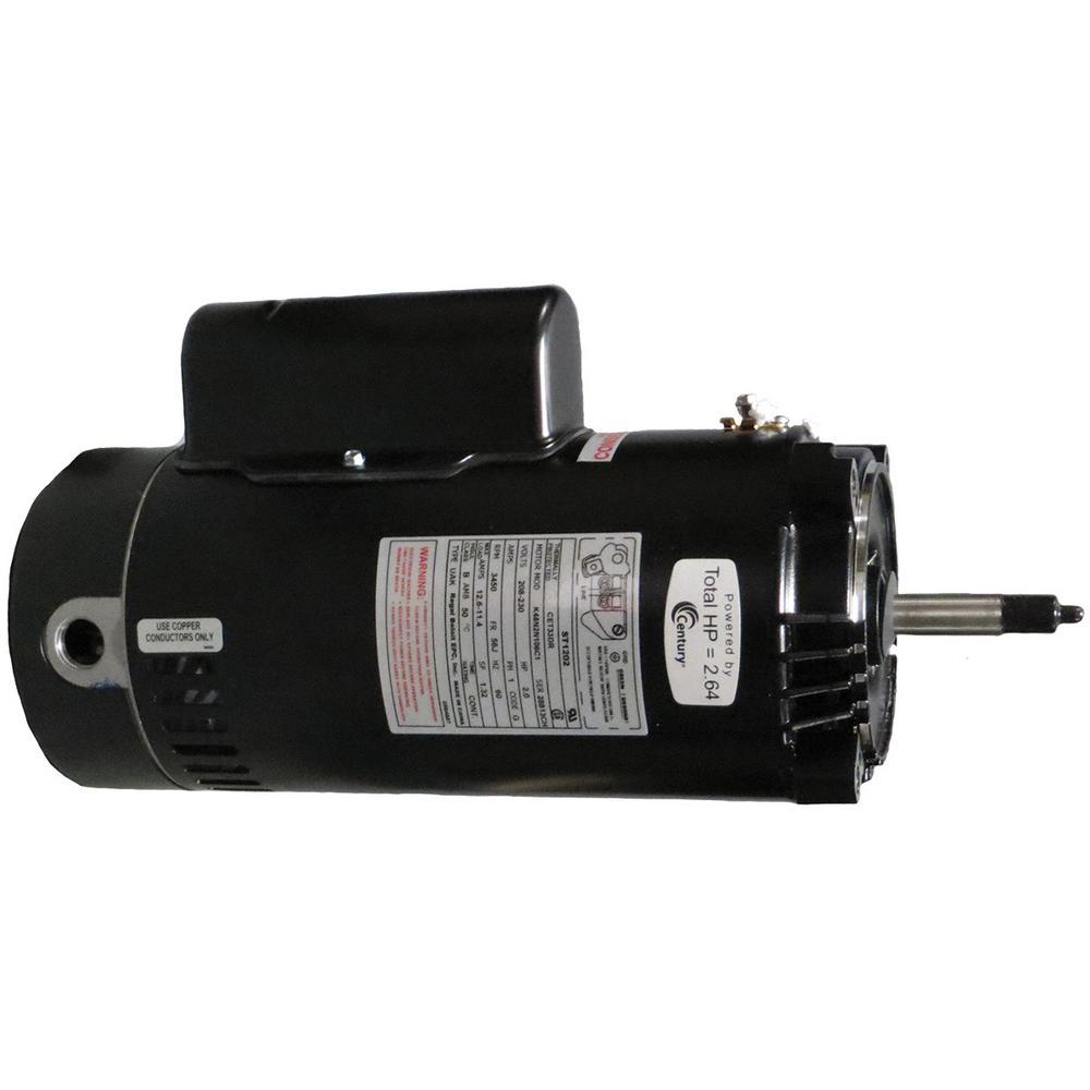 2 HP Single Speed Full Rate Motor Replacement Motor