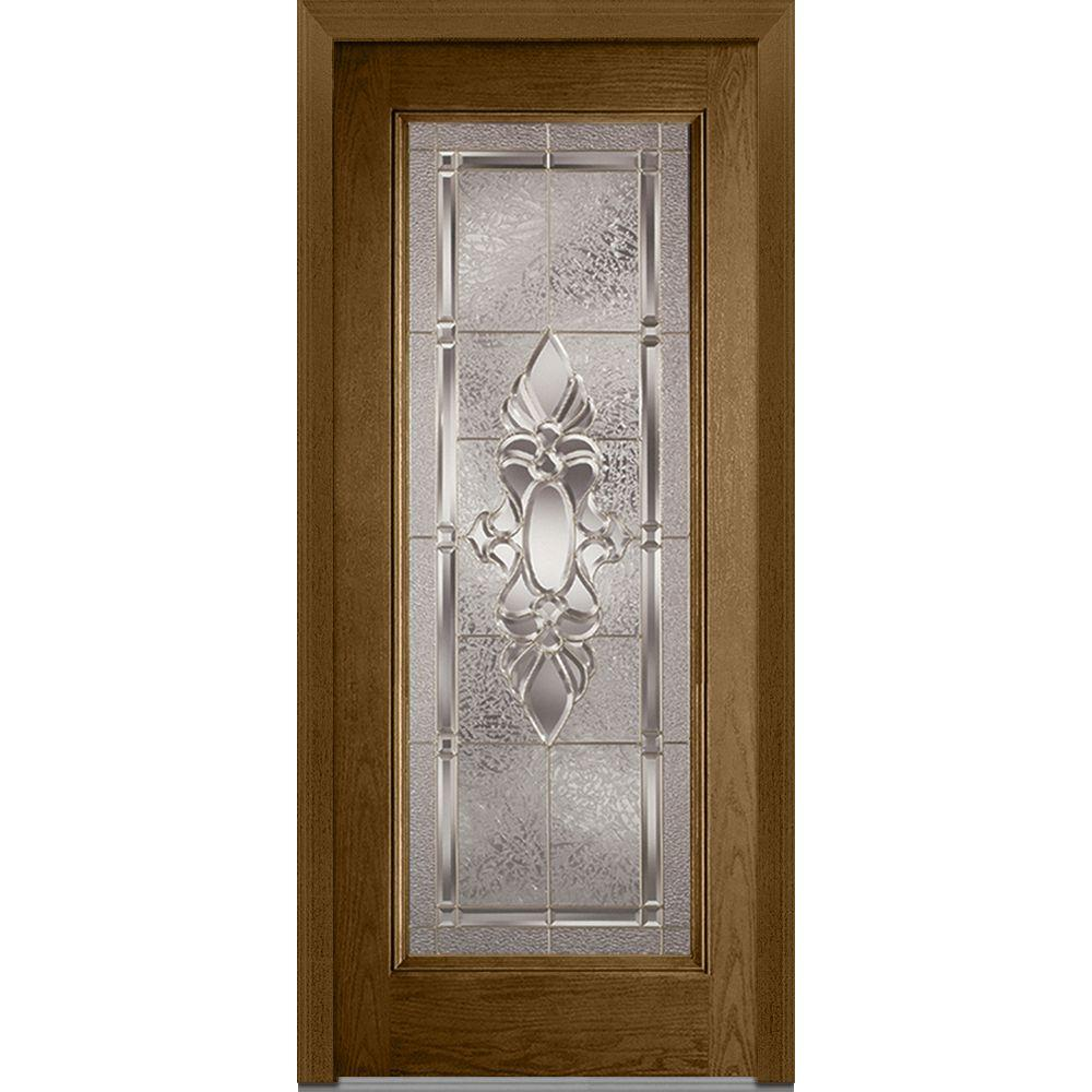 36 in. x 80 in. Heirloom Master Right-Hand Full Lite Classic